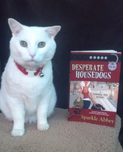 Cat with Desperate Housedogs book.